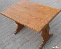 Stół dąb, rozkładany max 170x70, używany Gaszowice