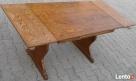 Stół dąb, rozkładany max 170x70, używany - 5