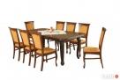 Duży zestaw IMPERIUM!! stół + 8 krzeseł! KLASYKA! Wrocław