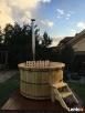 Basen ogrodowy gorąca beczka bania Hot Tub piec wewnętrzny Lublin