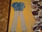 Zestaw ubranek dziewczęcych spodnie dres. i bluzka r.128 Góra Kalwaria