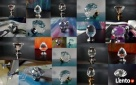 Duży wybór uchwytów kryształowych do mebli