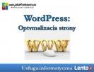 WordPress: Optymalizacja strony Wrocław