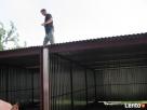 Garaże blaszane blaszaki ocynkowane powlekane wiaty pawilony - 4