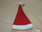 Czapka Świętego Mikołaja z dzwoneczkiem – dla osoby dorosłej