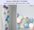 Lampki LED, świecące kule Cotton Ball Lights zestawy - 4