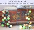 Lampki LED, świecące kule Cotton Ball Lights zestawy - 6