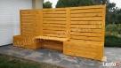 Pergola ogrodowa z ławką Ciasna