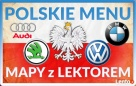 Polskie menu AUDI A3 A4 A5 A6 A7 A8 MMI 2G 3G 3G+ LEKTOR PL Katowice