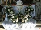 Dekoracje ślubne kościoów Krościenko Wyżne