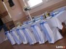Pokrowce na krzesła weselne Krościenko Wyżne