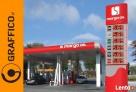 Pyon cenowy, reklamy dla stacji paliw, reklama świetlna - 7