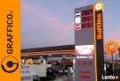 Pyon cenowy, reklamy dla stacji paliw, reklama świetlna - 5