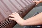Brązowa siatka ochronna na rynny przeciw liściom2m Rolmarket - 2