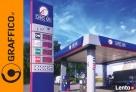 Pyon cenowy, reklamy dla stacji paliw, reklama świetlna - 6