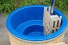 Gorąca beczka, balia kąpielowa, basen, spa, piec wewnętrzny - 2