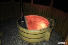 Gorące beczki banie ruskie Hot Tub jacuzzi LED - 3