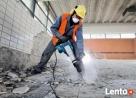 Skuwanie ,Glazury , tynku ,betonu Wyburzanie ścian,rozbiórka Łęczna