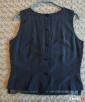 Elegancka, klasyczna bluzka bez rękawów 40 - 5