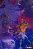 Akryl na płótnie,obraz POLE MOŻLIWOŚCI artystki A. Laube - 2