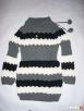 TUNIKA Sweter SUPER Splot Pompon NOWA S M - 7
