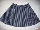 H&M spódnica NOWA Granat Jersey Paseczki HIT 40 L 42 XL - 5
