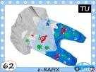 Rampers sweterkowy 62 cm TU