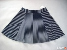 H&M spódnica NOWA Granat Jersey Paseczki HIT 40 L 42 XL - 2