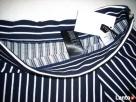 H&M spódnica NOWA Granat Jersey Paseczki HIT 40 L 42 XL - 6