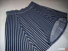 H&M spódnica NOWA Granat Jersey Paseczki HIT 40 L 42 XL - 3