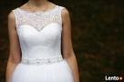 Suknia ślubna koronka/tiul, rozmiar 36/38 + buty gratis Dębica