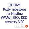 Oddam kod rabatowy 25% hosting WWW, SSD, SEO lub serwer VPS Gdańsk
