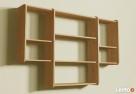 Półki wiszące Detalion na ścianę książki cd półka wisząca - 3
