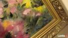 Obraz olejny Czerwone Kwiaty Duże - 2