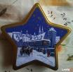 Eleganckie metalowe pudełko świąteczne w ksztacie gwiazdy Piekary Śląskie