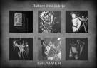 Inspiracja Z.Beksińskim Obraz ręcznie rzeźbiony ... Grawerka - 3
