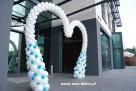 balony, dekoracja balonowa, brama z balonów, hel do balonów - 5