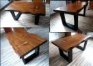 stolik stół kawowy ława NA WYMIAR z drewna drewniany - 2