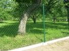 Siatka ogrodzeniowa pleciona na podmurówce systemowej kpl. - 6
