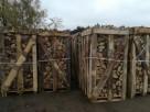 Drewno Kominkowe Drewno Opałowe Dąb Dębowe 1mp Paleta - 5