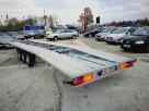 Przyczepa 3 osiowa do transportu 2 pojazdów o masie 3,5t - 2