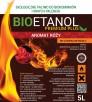 Biopaliwo Bioetanol Paliwo Do Biokominków Aromat Róży 5l - 1