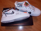 NIKE AIR FORCE 1 JDI PRM 35,5 fit r.36 JUST DO IT AO3977 100 - 3