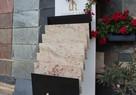 Płytki kamienne granitowe podłogowe jasne Ivory Brown - 4