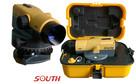 Niwelator budowlany optyczny SOUTH NL-C32 + łata i statyw - 1