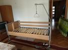 Łóżko Rehabilitacyjne Elektryczne na pilota Otto Bock 3 fun