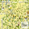 Materiał z nadrukiem: Pnące kwiaty wśród liści - seria 4