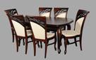 Komplet-stół + 6 krzeseł do jadalni salonu nowy Producent