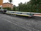 Transport Przyczepa 8.6m Dłużyca Laweta płaska podłoga Trans