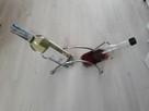 Metalowy stojak do wina na 2 sztuki - 4